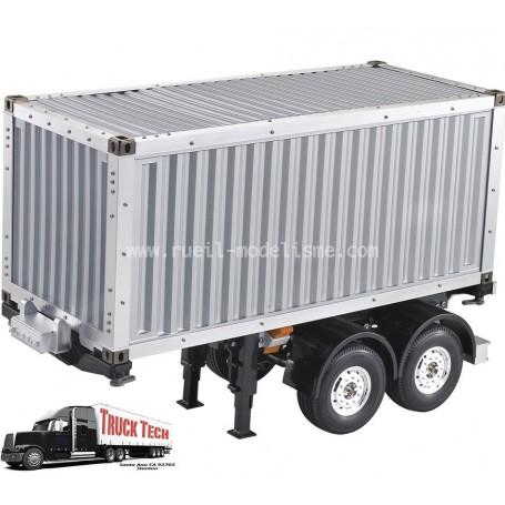 Container 20 pieds + remorque 140407 Truck tech