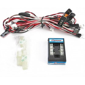 Kit éclairage 8 Leds complet 3RAC-LEDS 3Racing