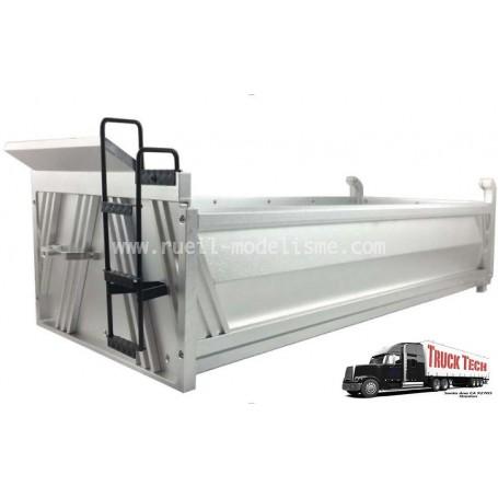 Benne 400mm aluminium 140425B Truck tech