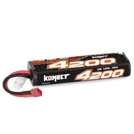 Lipo 7,4V 4200 mah 40C 2S Konect