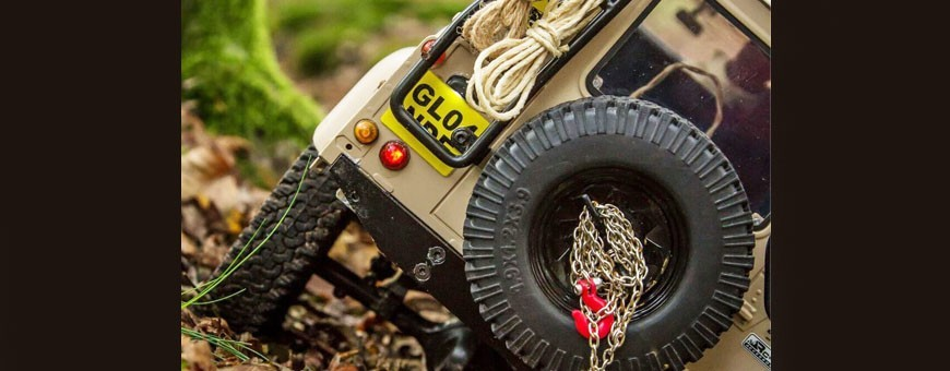 Échelle Accessoires Eau Seau pour TRX4 échelle Trail Crawler
