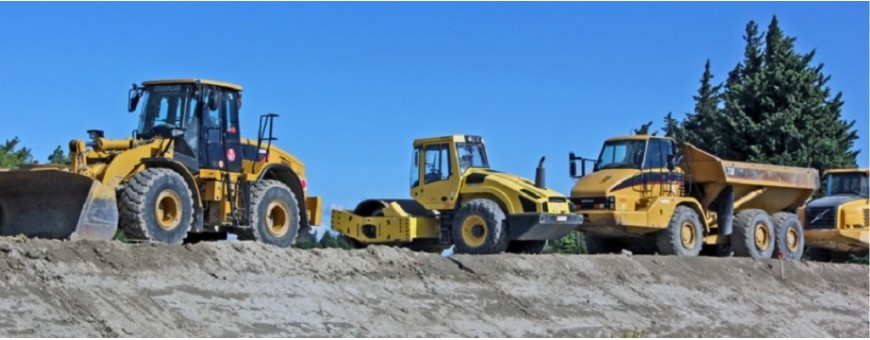 Engins de chantiers - manutention