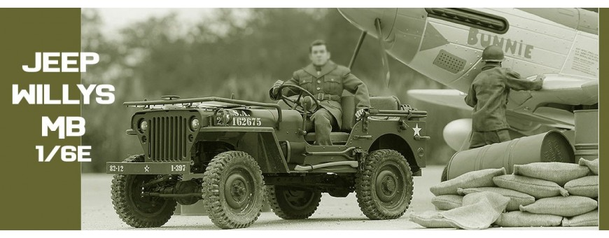 JEEP WILLYS ROC Hobby