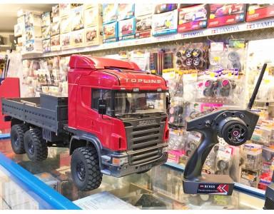 Beast RC4WD avec carrosserie Scania Tamiya réalisé par José